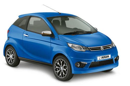 Aixam Coupe Premium in blau